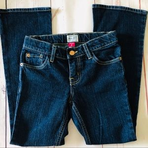 THE CHILDREN'S PLACE TCP dark denim BOOT CUT JEANS